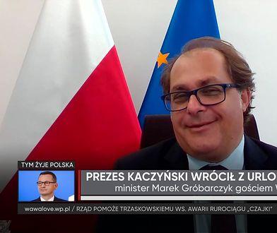 Jarosław Kaczyński żeglarzem? Minister Marek Gróbarczyk: Lubi popływać