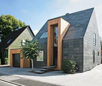 Tradycja poprawiona: łupek na dachu i fasadzie