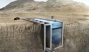 Kosmiczny dom na klifie. Casa Brutale