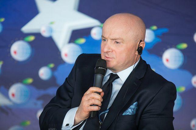 Wiceminister sportu i turustyki Jarosław Stawiarski