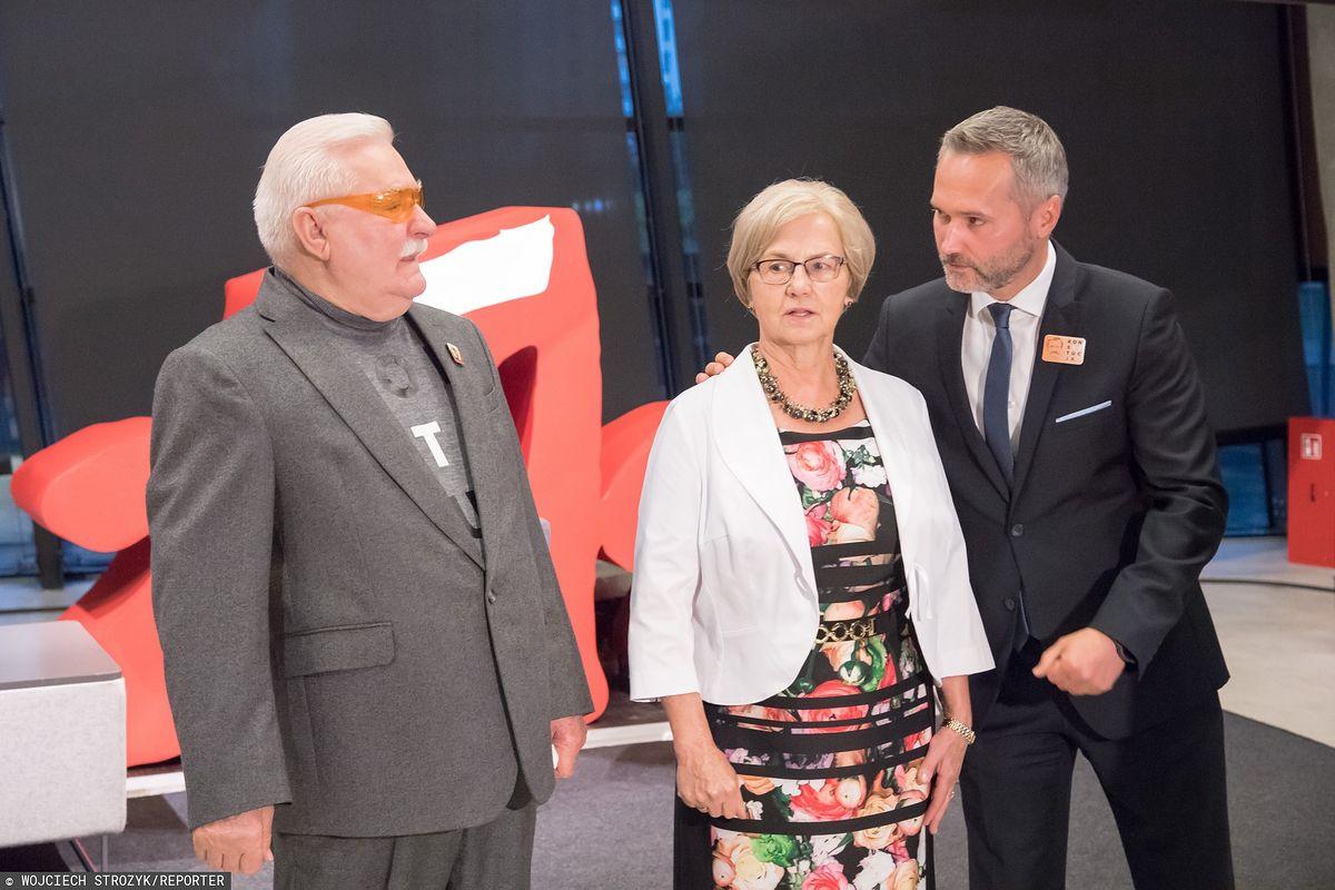 Lech Wałęsa wspiera PO. Były prezydent z rodziną przekazuje hojne datki