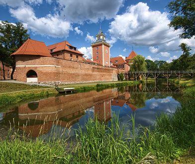Wizytówką Lidzbarka Warmińskiego jest zamek biskupów