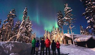 Aurora borealis - niezwykłe zjawisko na niebie