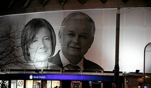 Portret pary prezydenckiej na Rotundzie