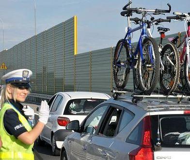 Policja apeluje o ostrożne powroty z wakacji