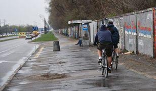 Rowerzyści wolą chodnik