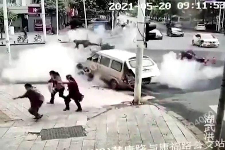 Tajemnicza eksplozja w Wuhan. Są podejrzenia, co ją spowodowało