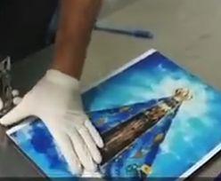 Ukrył kilogram kokainy w obrazie Matki Boskiej. Przemyt wykrył pies