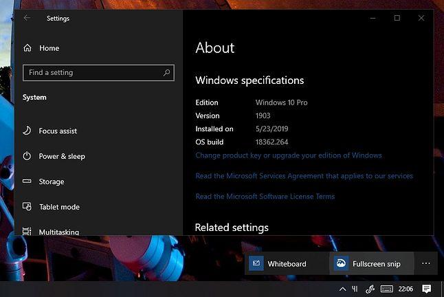 Nowy interfejs Windows Ink, źródło: reddit.