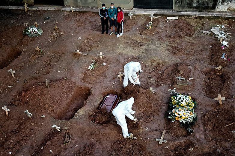 Władze Brazylii ogłaszają żałobę narodową