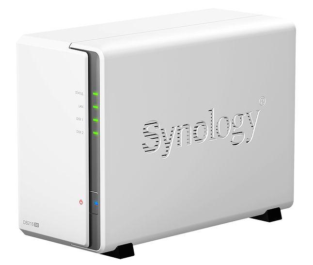 Synology DS216se – jedno z najlepszych urządzeń NAS do zastosowań domowych. Dysk twardy trzeba dokupić oddzielnie