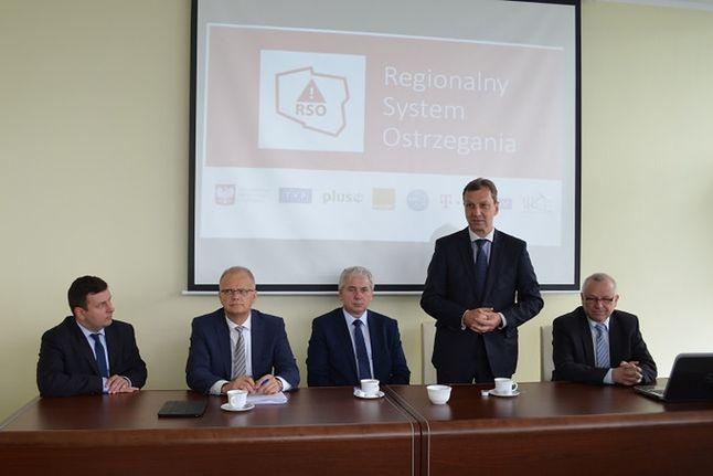 Minister Andrzej Halicki na Śląsku podczas wczorajszego spotkania z samorządowcami. MAiC