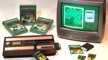Atari część VI – 8 bitowa wojna, pierwsze ofiary - Konsola Intelliision z ulubioną grą pracowników biurowych - Saperem.