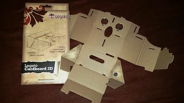 Legato Cardboard 3D — tańsze znaczy lepsze?