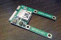 Wewnętrzne porty USB w laptopie