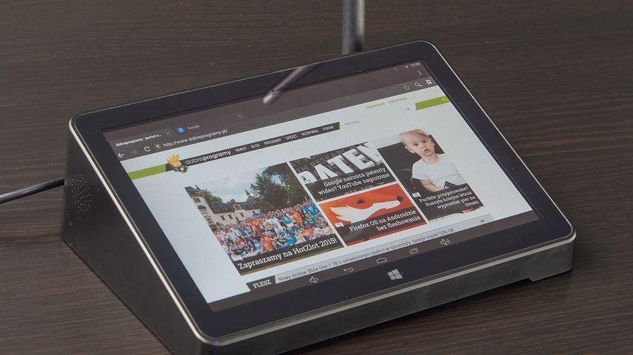 PiPO X8 – test taniego miniPC z Androidem, Windows i tabletowym ekranem dotykowym