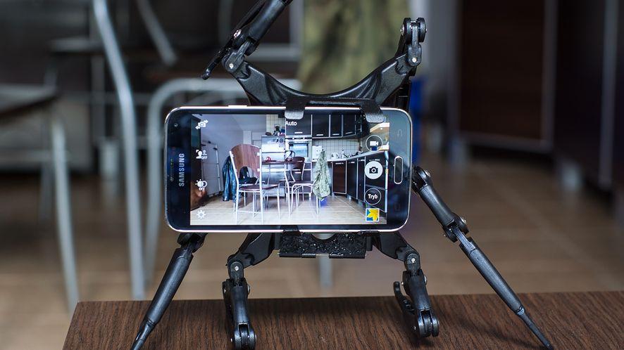 Life Phorm — owadopodobny statyw na tablet, telefon i aparat