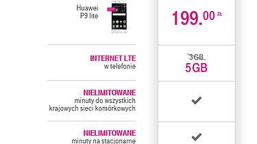 Polujemy na okazje. Huawei P9 Lite w T-mobile - podsumowanie zamówienia