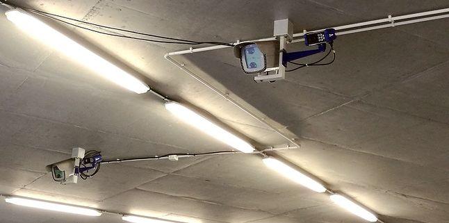 Kamera ANPR, parking podziemny, Orange Polska