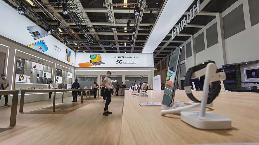 Huawei na IFA 2020, fot. Paweł Hekman