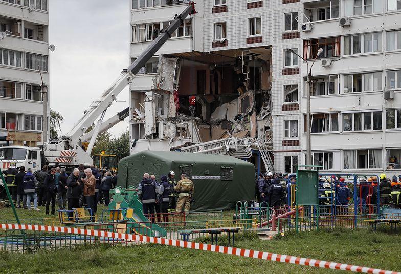 Eksplozja w Nogińsku. Wybuch wyrwał dziurę w bloku