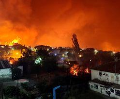 """""""Mówimy o apokalipsie"""". Grecja w środku piekła. Zdjęcia porażają"""
