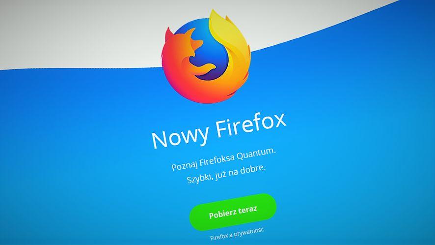 Nowy Firefox to pierwsza przeglądarka z obsługą logowania odciskiem palca