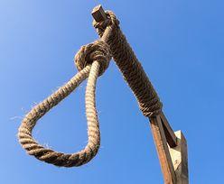 Żona zabiła męża. Nie dożyła egzekucji, ale i tak ją powiesili
