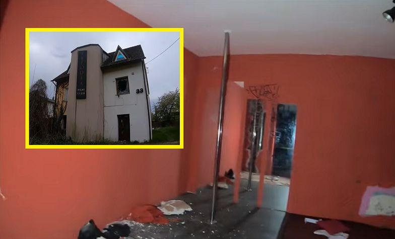 Wszedł do opuszczonego domu publicznego. Youtuber pokazał, co zastał w środku