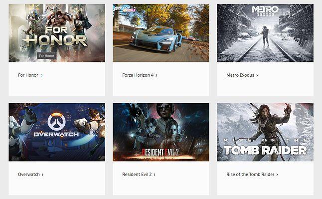Grami, jakie wykorzystują Dolby Atmos są m.in. Forza Horizon 4, Metro Exodus, Resident Evil 2 i Overwatch, fot. Dolby