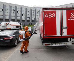 Rosja. Pożar w szpitalu. Nie żyje pięciu pacjentów zakażonych koronawirusem