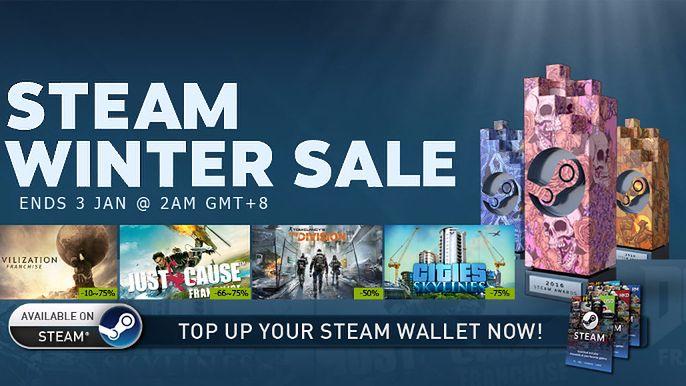 Na Steamie ruszyła zimowa wyprzedaż – na które gry warto zwrócić uwagę?