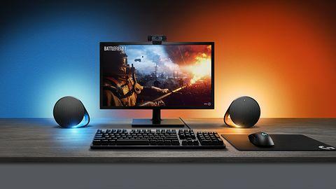 Logitech G pokazuje mechaniczną klawiaturę i głośniki z podświetleniem RGB