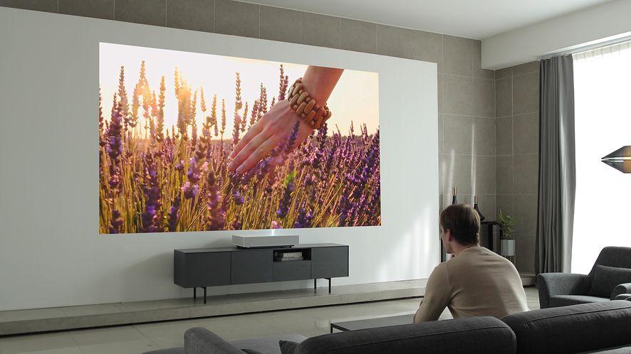 LG CineBeam Laser 4K