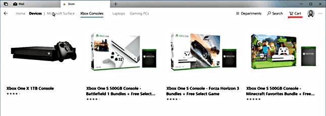 Koszyk w Microsoft Store: po co komu inne sklepy internetowe?