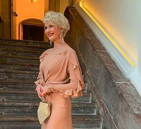 STYLOWE MAMY: Małgorzata Kożuchowska w wieczorowej sukni Macieja Zienia na Taormina Film Fest