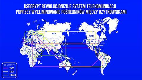 UseCrypt Messenger to najbezpieczniejszy komunikator na rynku. Tych zabezpieczeń nie złamiesz