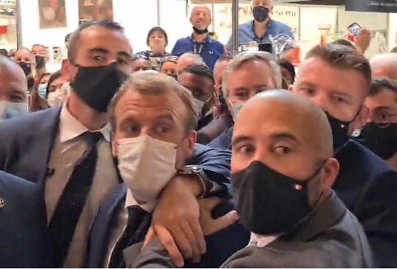 Atak na prezydenta Francji. 19-letni sprawca w szpitalu psychiatrycznym