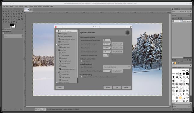 Szary interfejs, nowy motyw ikon i obsługa OpenCL