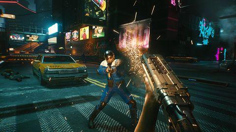 A tak chodzi Cyberpunk 2077 na PlayStation. Przy okazji poznajcie MaxTac