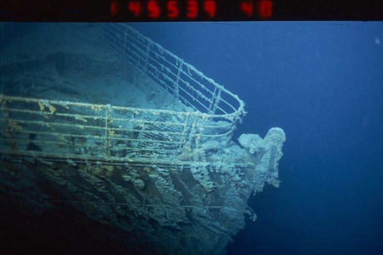 Kadłub wraku Titanica zostanie częściowo przecięty