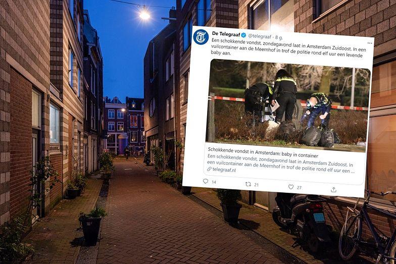 Szokujące odkrycie pod blokiem. Cała Holandia poruszona