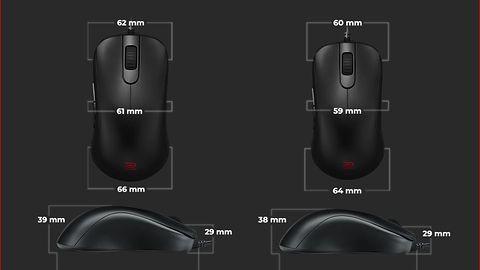 BenQ ZOWIE S – myszki e-sportowe dla praworęcznych graczy
