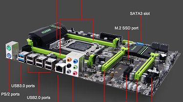 Zestaw komputerowy z Chin — Intel Xeon E5-2650v2 oraz HUANAN X79 2.49