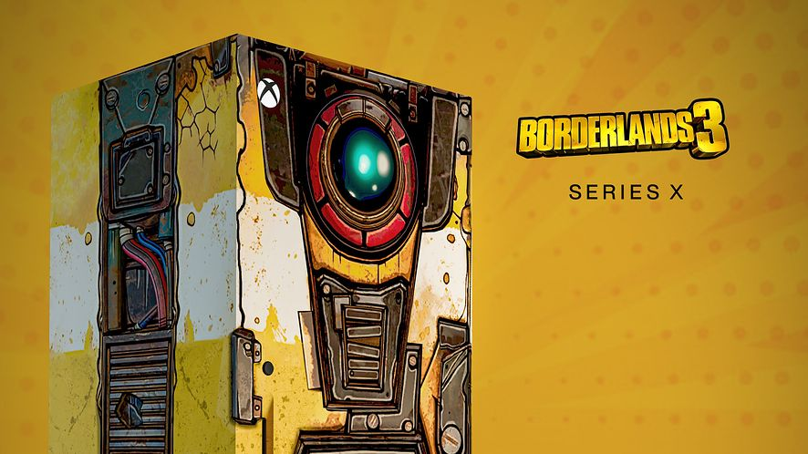Xbox Series X w wersji Borderlands 3