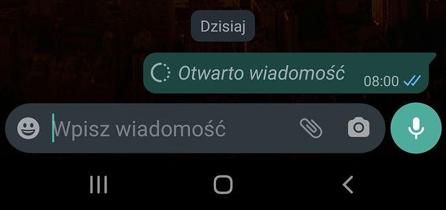 Funkcja jednorazowego wyświetlania zdjęć i filmów w WhatsApp