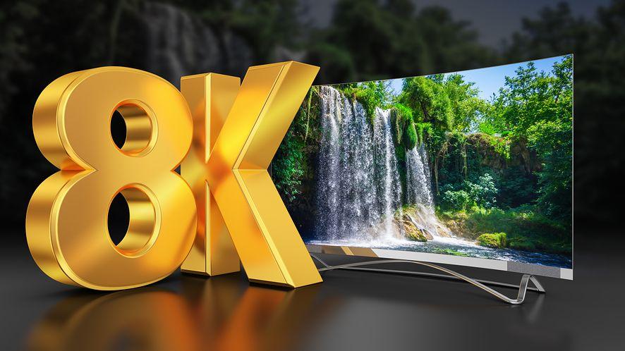 Rozdzielczość 8K jest trudna do odróżnienia od 4K dla wielu konsumentów, fot. rommma / Shutterstock
