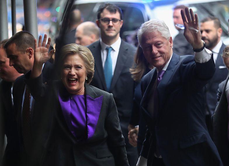 Wybory w USA. Hillary Clinton w euforii. Cztery lata temu przegrała z Trumpem