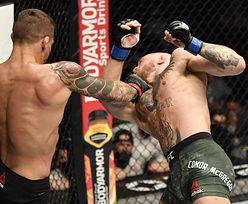 Conor McGregor brutalnie znokautowany. Zobacz, jak upadła legenda MMA