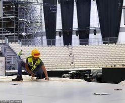 Tragedia na Eurowizji. Zmarł pracownik, na którego spadł element oświetlenia